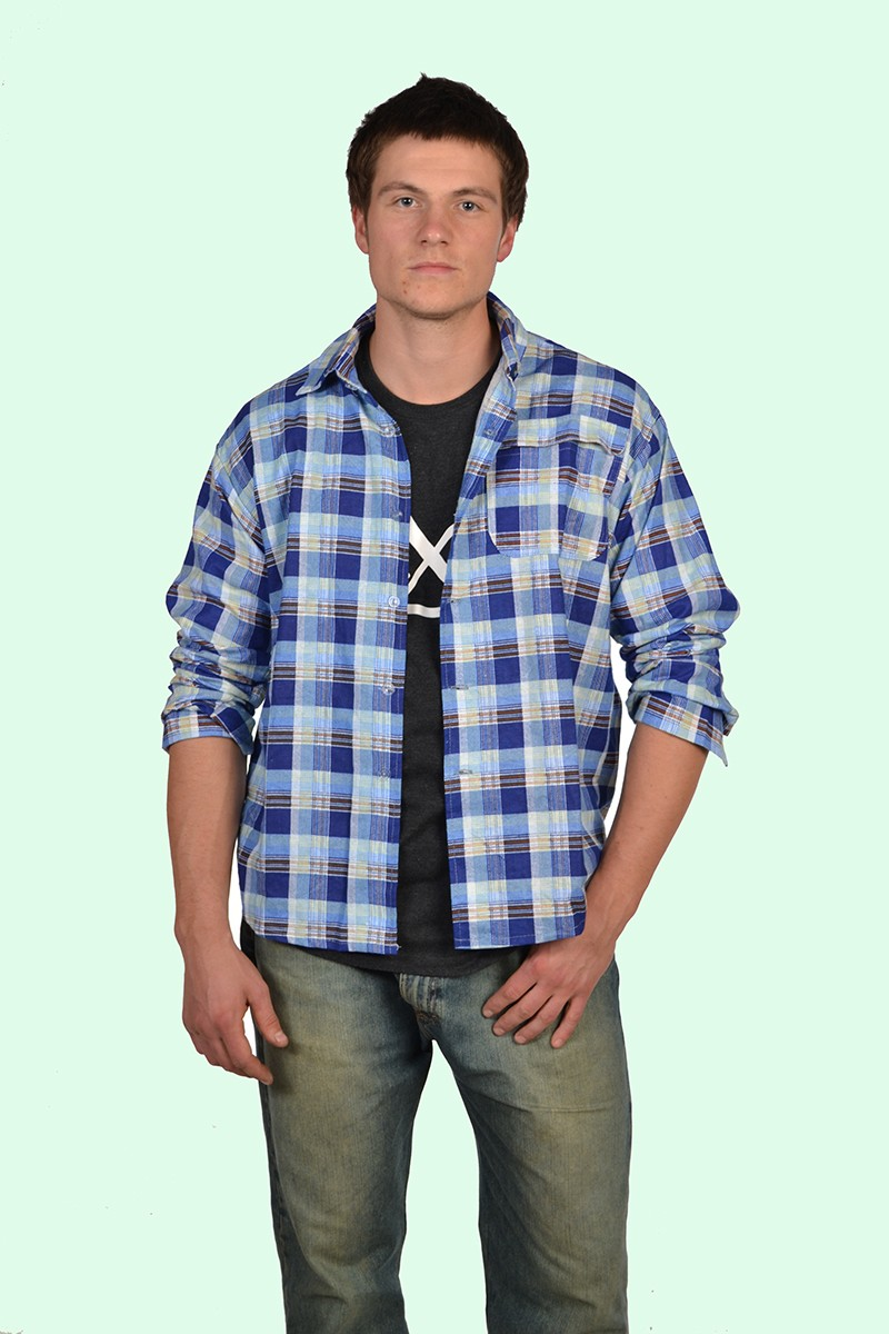 8793991bcb4 Скачать фото 2 · Рубашка мужская фланелевая (Фото 2)